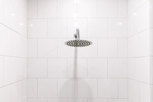 Chrome Clean Shower Head In Th...