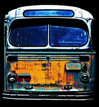 Old Rusty Bus