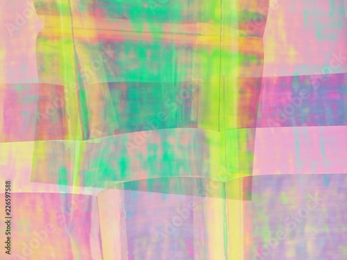 Carta da parati holography, abstract, pattern, green, blue, colorful, color, texture, design, wa