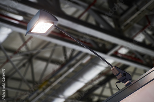 Portable Exhibition Lighting : Portable fixing lamp led lighting in a business centre