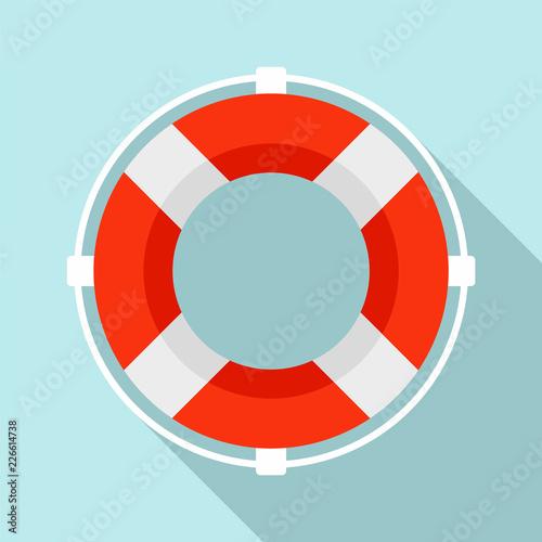 Fotografie, Obraz Life buoy solution icon