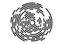 Abstract Geometric Vortex, Cir...