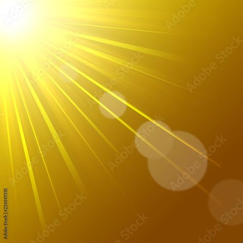 Valokuvatapetti 放射光 閃光 発光 光線 サイエンス 創造