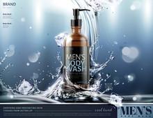 Men's Body Wash Ads