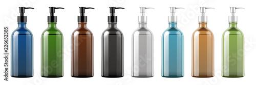 Set of pump bottles Fototapet