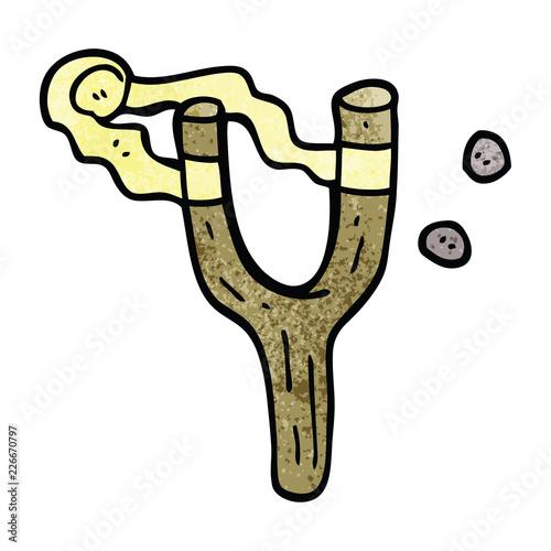 Fotografía  cartoon doodle catapult toy