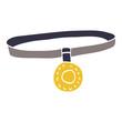 cartoon doodle dog collar
