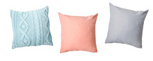 Pillows Set,home Decor Isolated.