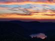 Coucher du soleil sur les Vosges