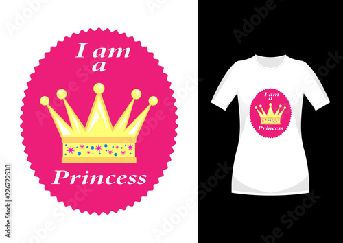 I am a Princess Fototapet