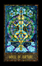 Wheel Of Fortune. Major Arcana...