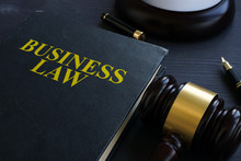 Business Law And Gavel In A Co...