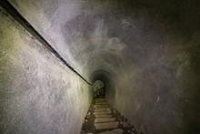 Long Corridor Inside Bunker