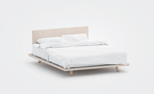 Blank White Bed With Pillows M...