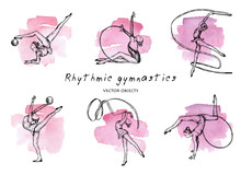 Vector Illustration. Rhythmic ...