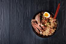 Soba Noodles With Sliced Roast...