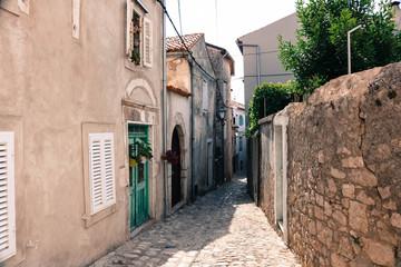 Fototapeta Historical city of Krk on the Island Krk in the Adriatic sea, Croatia