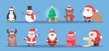Cute Christmas Character Celeb...