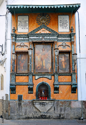 Fototapeta Religious altarpiece of St