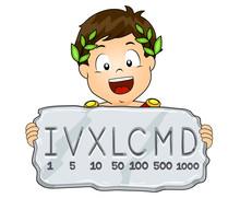 Kid Boy Roman Numeral System I...