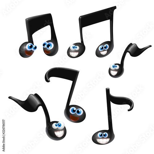 Valokuva  note musicali