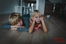 Kids Bored At Home, Stressed T...