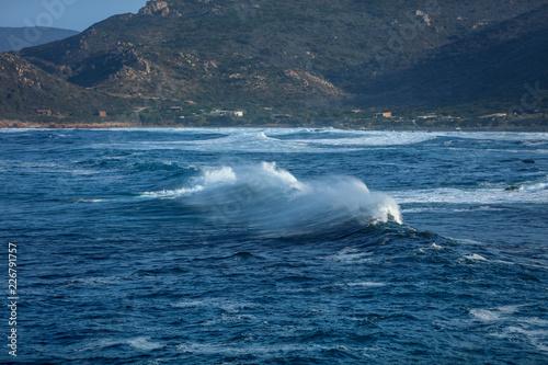 Fotografija  Wellen auf dem Weg zum Strand