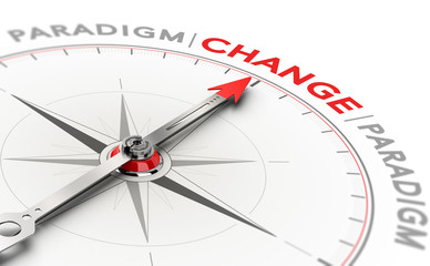 Paradigm shift, disruptive change in technology or science
