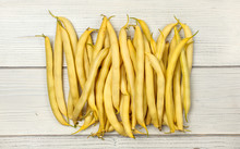 Yellow String (wax) Beans On W...