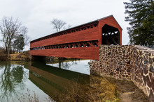 Sachs Covered Bridge In Gettys...