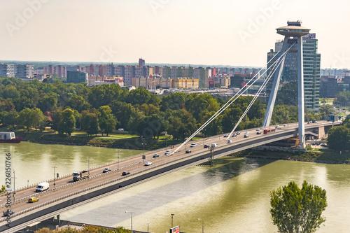 Fototapeta Krajobraz miejski w Bratysławie