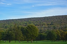 The Historic Golf Course At The Shawnee Inn, Shawnee On Delaware, In The Pocono Mountains Of Pennsylvania, USA.