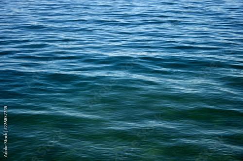 Staande foto Zee / Oceaan Blue sea with waves