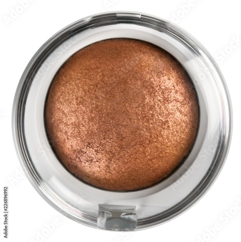 Foto op Plexiglas Chocolade pressed powder