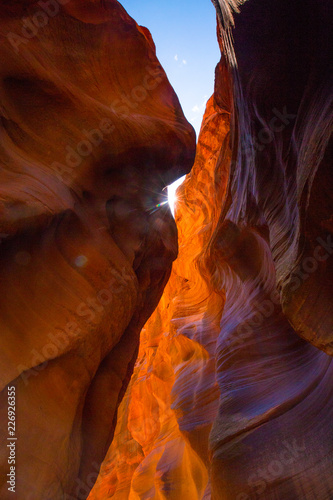 Photo Stands Cuban Red Slot canyons and erosion marks