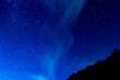 canvas print picture - 富士山五合目の星空