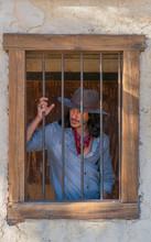 Cowboy In Town Jail