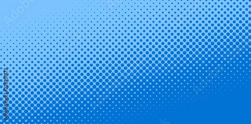 Obraz na plátně  Pop Art texture background illustration