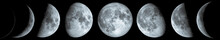 Phases Of The Moon: Waxing Cre...
