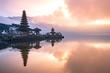 Leinwanddruck Bild - pura ulun danu bratan temple in Bali