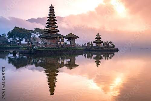 Tuinposter Bali pura ulun danu bratan temple in Bali