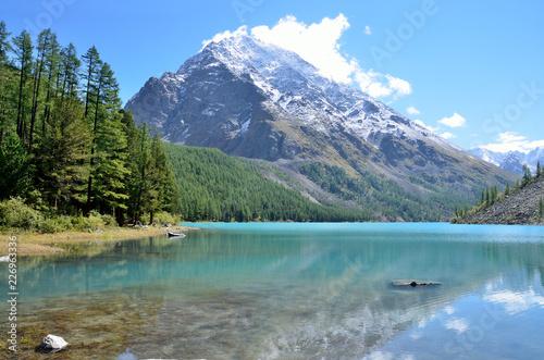 Keuken foto achterwand Canada Big Shavlinskoe lake, Altai Republic, Russia