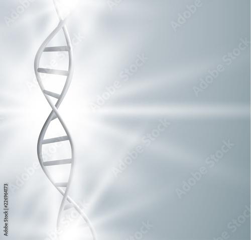 Fotografie, Obraz  DNA strand structure vector background. Vector EPS10