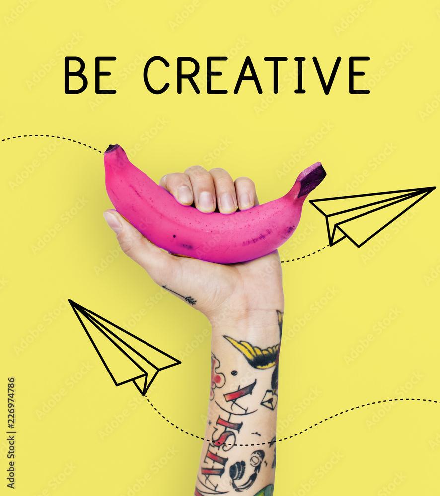 Fototapety, obrazy: Be Creative Ideas Imagination Inspiration Creativity