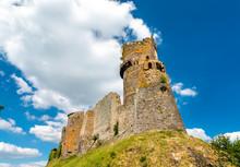 The Chateau De Tournoel, A Castle In The Puy-de-Dome Department Of France