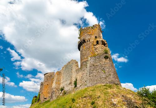 Foto op Plexiglas Historisch geb. The Chateau de Tournoel, a castle in the Puy-de-Dome department of France