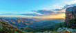 canvas print picture - Monteseel Sunrise 1
