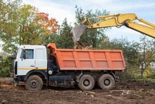 Excavator Bucket Loading Const...