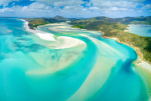 Hill Inlet At Whitehaven Beach...