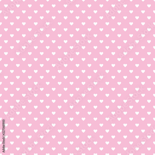 Fotobehang Stof Hearts seamless pattern design any love concept. Wallpaper background mini hearts for valentine's day,mother's day.